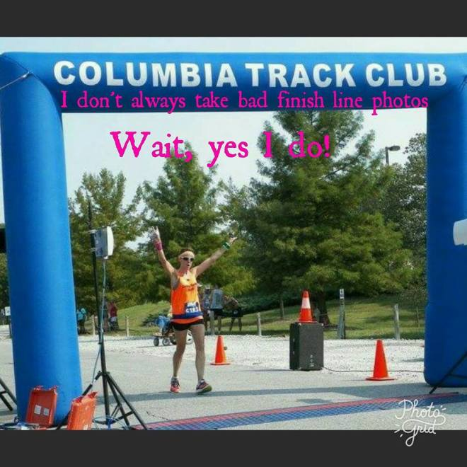 HOA Columbia Marathon Finish